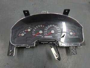 Ford Explorer Speedometer Cluster With Message Center 2004 2005