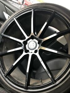 Asanti Black Label 22 Inch Rims And Goodyear Tires