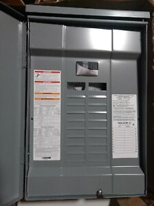 Square D 100 Amp 20 space Circuit Breaker Box Panel Load Center Outdoor