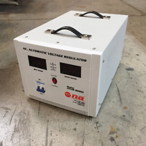 Nippon America Ac Automatic Voltage Regulator Atvr 8000 8000 Watts