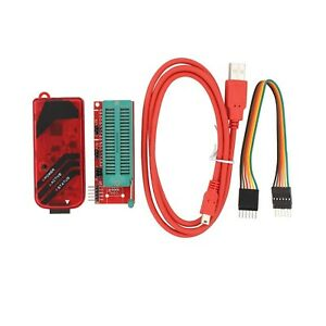 New Pickit3 Microchip Programmer With Usb Cable Wires Pic Kit 3 And Icsp Soc
