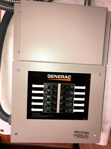 New Generac Rtg10eza1 Automatic Transfer Switch 10 circuit