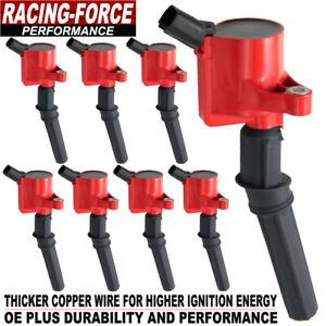 8 Ignition Coil Packs For Ford F 150 F 250 F 350 E350 Lincoln Mercury 4 6l 5 4l