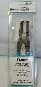 Panduit Wiring Duct Finger Cutting Tool Dfct 10 3 Steel New