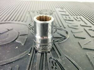 Ag632 Snap On Tools Usa 1 2 Drive 14mm Metric 12 Point Shallow Socket Swm141a