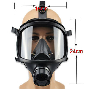 Gas Full Face M a Sk Respirator Filter Mf 14 For Painting Spraying Lab Chemistry