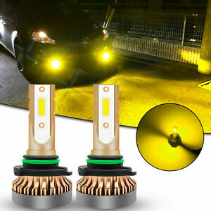 Jdm Golden Yellow Led Fog Light Bulb Lamp 9006 For Toyota Tundra Corolla 4runner