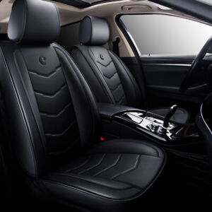 Us Car 5 seat Moon Leather Seat Covers Front rear For Toyota Camry Corolla Rav4