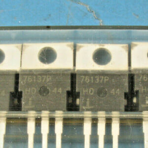 10 Intersil Huf76137p3 75a 30v 0 009 Ohm N channel Logic Level Mosfets