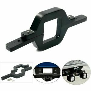 Tow Trailer Hitch Mounting Bracket For Dual Led Backup Reverse Truck Light Suv