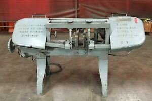 W f Wells Sons 9 Horizontal Industrial Bandsaw Model L 138 Blade