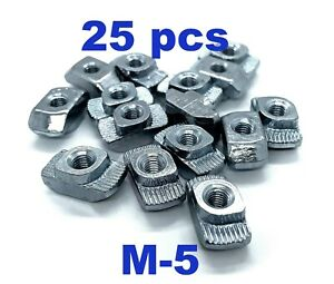 M5 Drop In T slot Nuts 2020 Hammer Head Nut T slot Aluminium Profile Extrusion