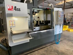 Haas Vf 4ss 5 Axis Vmc 2013 Tr 160 Wips From R d