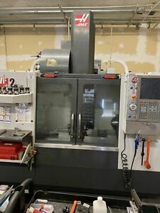 Haas Vf 2 Vmc 2013 4th Axis Rotary Table Wips Thru Spindle Coolant Auger