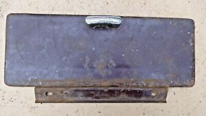 1940 1941 Ford Truck Glove Box Door W Hinge Knob Original Pickup Panel