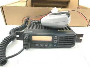 Icom Ic f6061d Transceiver Radio Mobile Mic 512 Channel Uhf