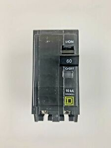 New Square D By Schneider Electric Qo260cp Qo 60 Amp Two pole Circuit Breaker