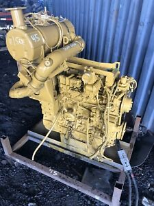 Caterpillar C3 8 Diesel Engine Skid Steer