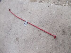 Farmall Super H Sh Tractor Original Hydraulic Belly Pump Control Lever Rod