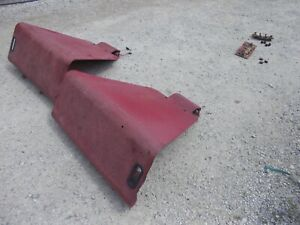 International Farmall 656 Rc Tractor Nice Original Dual Light Flat Top Fenders