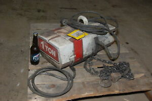 1 Ton Coffing Electric Chain Hoist Inv 29487