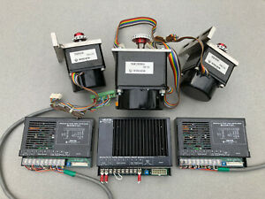 Vexta 3 axis Servo Motor Driver System Matched Gearheads Cnc
