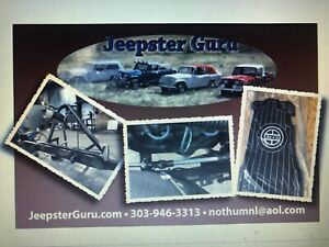 Jeepster Commando Oem Turquoise Striped Or Basket Weave Jeep