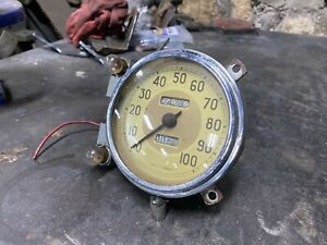 1939 Ford Deluxe Speedometer Gauge Mph Early V8 Flathead 1940 1938