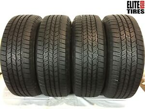 Set Of 4 Goodyear Wrangler Sr A Owl P265 65r18 265 65 18 Tire Driven Once
