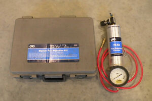 Otc 6550 Fuel Injection Test Kit And Otc 7448 Fuel Injection Cleaner Canister