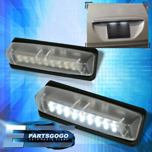 For Lexus Is300 Gs300 Es300 Rx330 Ls430 White Smd Led License Plate Lights Pair