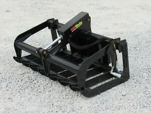48 Heavy Duty Root Grapple Bucket Attachment Fits Toro Dingo Mini Skid Steer