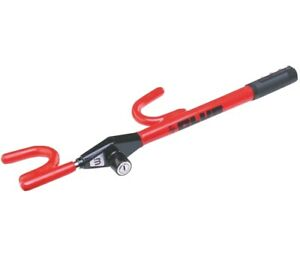 The Club Steering Wheel Lock Anti theft Device For Cars And Trucks Red new
