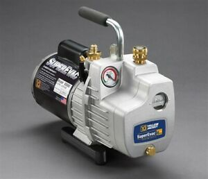 Yellow Jacket Superevac 2 stage 6cfm 115v Vacuum Pump 93560