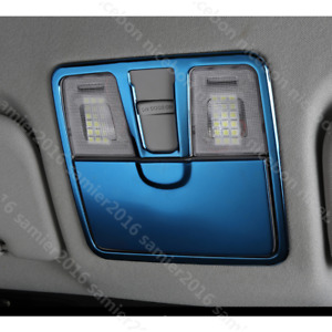 Fit For Hyundai Elantra 2011 2016 2pc Blue Stainless Read The Lamp Trim Cover