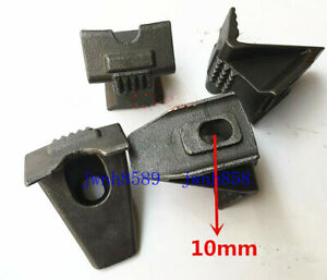 4pcs Coats Tire Changer Machines Parts 10mm Screw Hole Rim Clamp Metal Jaw Guard