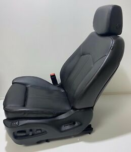 Cadillac Srx 2010 2016 Oem Driver Black Leather Seat Heated Power