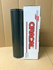 Oracal 651 1 Roll 15 X 10yd 30ft Black 070m Matte Sign Vinyl