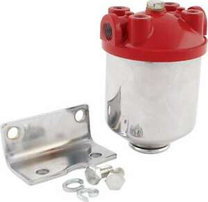 Allstar Performance Fuel Filter Chrome Canister All40250