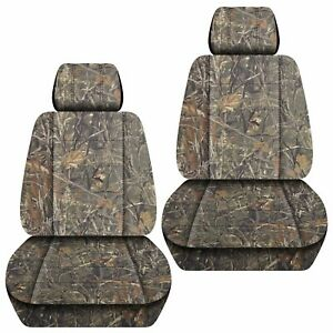 Front Set Car Seat Covers Fits Jeep Grand Cherokee 1999 2020 Camo Wetlands