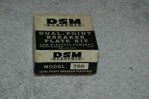 Rare Nos Dsm Electric 750 Dual Point And Plate Kit 1949 1953 Ford Hot Rod