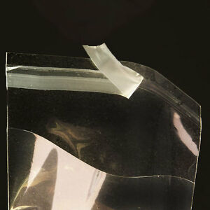 1000 4x6 Clear Resealable Bakery Candy Cookie Poly Cellophane Cello Bags