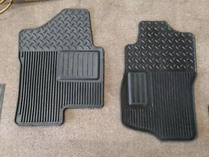 Chevy Suburban Tahoe Chevy Silverado Floor Mats 2pc Front Only 07 13