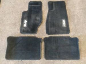Jeep Grand Cherokee Commander Floor Mats Set Mopar Liberty 2002 2010