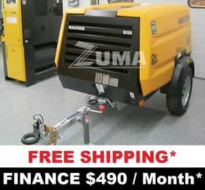 New Kaeser M55 Towable Air Compressor 185 Cfm Finance 399 Mo kaeser M58