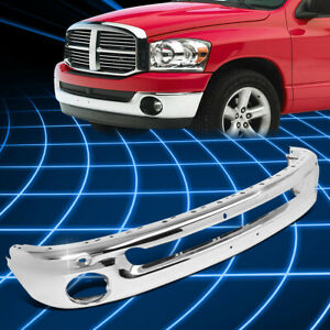 For 02 09 Dodge Ram 1500 3500 Truck Oe Style Front Bumper Face Bar Replacement