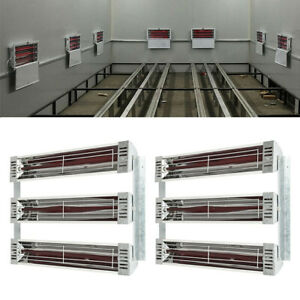 Baking Infrared Paint Curing Lamp Heater Heating Light Spray Booth Filtter 3kw