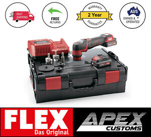 Flex Tools Pxe 80 Cordless Battery Nano Rotary dual Action Polisher 24mth Wty