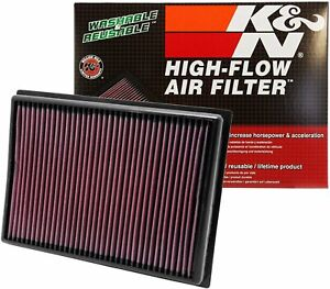 K n Engine Air Filter Washable And Reusable 2010 2019 Toyota lexus Suv