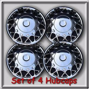 2000 2001 Buick Century Hubcaps 15 Chrome Bolt On Buick Century Wheel Covers 4